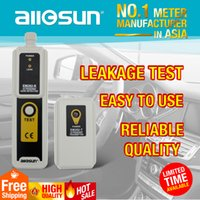 Wholesale ultrasonic transmitter resale online - Ultrasonic Leak Detector Transmitter Air Water Dust Leak Pressure with Headphone Portable Tool with LED Indication All Sun model EM282
