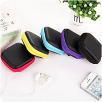Wholesale line spinners - Fashion Square Hand Spinners Storage Bags Earphones Bags Data Lines Box Multi Function Fidget Spinner Bag Boxes 200pcs IB256