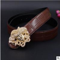Wholesale Popular Belt Brands - The most popular brand men's leather belt leather belt of fashionable young men and women belts