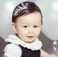 Wholesale Buying Wholesale Accessory - Must Buy ! 2016 Infant Baby Girl Crown Cloud Headband 2 PCS Set Baby Pretty Headwear New Born Photography Hair Accessories K7551