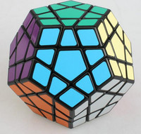Barato Velocidade Megaminx-ShengShou Professional 3layer Magic Cube Pentagon 12 lado Megaminx Magico Puzzle Speed ​​Twist Cubo Toy Dodecahedron Gigaminx gift