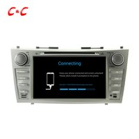 HD 1024 * 600 Quad Core Android 5.1.1 Car DVD Play para Toyota CAMRY con navegación GPS Radio Wifi Espejo enlace DVR