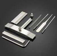selecciones de bloqueo kaba al por mayor-Herramientas de la selección de la cerradura de la lámina de lata para el conjunto de herramientas del cerrajero de las cerraduras de KABA