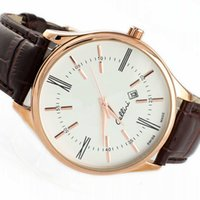 Wholesale Clocks Black - 2016 Hot Roles Watches men Luxury brands Leather strap Sports gold role x watch Fashion Business clock Men Relogio Masculino marque