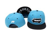 Wholesale Trukfit Hats For Women - New 2016 Fashion Snapbacks Trukfit Letters Embroidery Casual Baseball Caps Hip hop Hats Bboy Bones Gorras Toca For Men Women