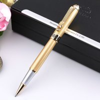 Wholesale Dragon Roller Ball Pens - Jinhao 1000 Luxury Gold Dragon Ballpoint Pen with 0.7mm Refill Free Shipping Roller Ball Pens