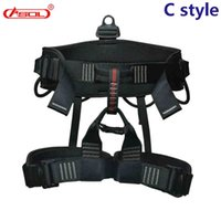 Wholesale rock equipment - Asol Professional Climbing Harness & High Altitude Outdoor Equipment & Half Body Safety Belt & Fall Protective Gear &Climbing Equipment