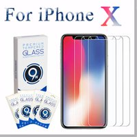 Wholesale Huawei S7 Screen - For iPhone 5 5s 5se 6 6s 7 8 X Plus Tempered Glass 2.5D HD 9H 0.33mm Anti-Scratch For Samsung Huawei Xiaomi LG Screen Protector curved Film