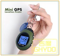 Wholesale Bike Gps Receiver - Mini GPS Receiver Navigation Handheld Location Finder bicycle bike code Table Outdoor Sport Travel free shipping