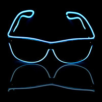 Wholesale voice controlled bulb resale online - Glow Sun Glasses Led DJ Bright Light Safety Light Up Multicolor Frame Voice control led flashing glasses