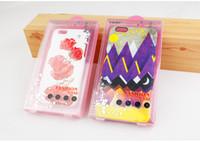 mora rosada al por mayor-300pcs venden al por mayor la caja plástica del teléfono del PVC de la venta al por menor del color rosado que empaqueta para el iphone 6 6plus 7 7plus caja del teléfono celular con la bandeja interna