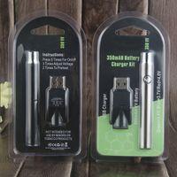 Wholesale Sales Pens - Hot sales Preheat Battery Kits VV Preheating Starter Kit Co2 Oil Vaporizer O Pen Adjustable 350mah 510 Thread vape Pen With USB Charger