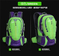 Wholesale Spot Bag Backpack - Free shippng hot sale Spot wholesale outdoor mountaineering bag men and women sports bag backpack waterproof hiking backpack skiing
