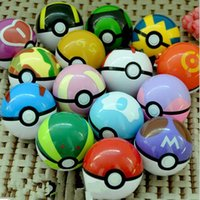 Pikachu giocattolo pokeball cosplay pop-up Elf andare pokeball Master Ball sfera ultra giocattoli multicolore Pokeball plastica palla