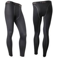 équipement serré achat en gros de-Compression Base Layer Pants Long-Tight sous la peau Sportswear Gear Bottom L4 KR2