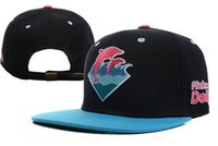 Wholesale Pink Dolphin Snap Backs - Wholesale hot Snapback Hats High Quality Pink Dolphin Snapbacks Caps Cheap Baseball Snap Back Hat Fashion Hip Hop hats
