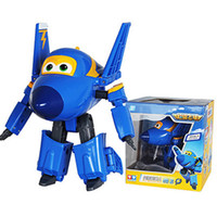 Wholesale Super Airplane Action Figures - 15cm ABS Super Wings Deformation Airplane Robot Action Figures Super Wing Transformation toys for children gift Brinquedos