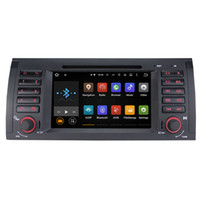 Wholesale Double Din Gps Wifi - Joyous Android 5.1.1 System 1024*600 Double DIN Car DVD For BMW E39 X5 E53 M5 1999-2005 Radio Stereo GPS Navi WIFI 3G