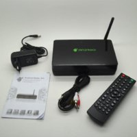 A20 Dual Core Android 4.2 Smart TV Box Media Player XBMC 1 Go DDR3 de 4 Go Nand support flash USB 3G dongle HDMI 1080P
