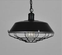 Wholesale Paint Light Bulb - loft American industrial pendant lighting vintage lighting for dining room iron black rust painted E27 Edison bulb home lamp