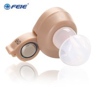 Wholesale Hearing Aids Prices - 2016 new arrival ear care deafness headset Cheap Price Sound Amplifier Internal Hearing Aid S-212 Drop Shipping
