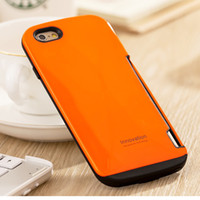 Wholesale Face Armor - 2 in 1 i face mall ifacemall hybrid colorful armor phone case with TPU+ pc high quality for iphone SE 6 6plus samsung s6 s6edge dhl free
