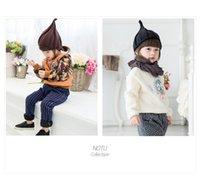 Wholesale Korea Fashion Street Wholesale - Hot selling korea designer new hat acrylic kids girls boys winter beanies baby hat beanies popular