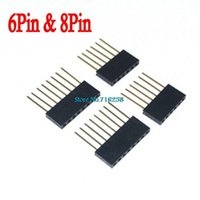 Wholesale Arduino Pin Header - Wholesale-4pcs lot Stackable Header (6&8 Pin) Kit For Arduino Free Shipping Wholesale