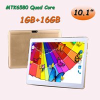 Wholesale android 5.1 quad core phone case resale online - Android MTK8752 Octa Core GB Phablet Real quot MTK6580 Quad Core Phone Tablet PC G Dual Cameras GB Leather Case