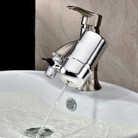 ingrosso rubinetto in ceramica filtro acqua-1pc New kitchen Faucets Filter Rubinetto filtro acqua Domestico depuratore d'acqua lavabile Filtro ceramico Mini filtro acqua
