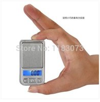 Wholesale Lcd Display For Scales - Mini Pocket Kitchen Scales 200g 0.01g Electronic Jewelry Weigh Scale for Carat Gem Food Balance Gram LCD Display Factory Price Free Shipping