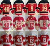 Wholesale Cheap Fleece Sweaters - Detroit red wings hockey hoody, hoodies, sweaters,#40 henrik zetterberg,#13 pavel datsyuk,#9 gordie howe, #19 steve yzerman .Stitched cheap
