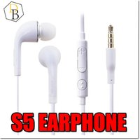 Wholesale Headphones Galaxy Note - Earphones 3.5mm Earphone In Ear Stereo Headset Headphones With Mic Remote Volume Control For Samsung S6 Galaxy S6 S4 S5 Note 5