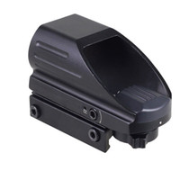 Wholesale Wholesale Reflex Sights - Hunting Optics 1x22x33 Compact Reflex Red Green Dot Sight scope 4 Reticle Sight for Airsoft With Weaver 20mm Mount