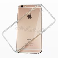 Wholesale Plus Protect - For Iphone 7 Case Iphone 6s Crystal Gel Case for iPhone 6s i7 Plus thick transparent Soft TPU Cases protect back cover Free 200pcs cheapest