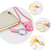 Universal Lanyards Neck Strap Charms Nylon Hang Rope Ring pour téléphone portable MP3 MP4 Camera ID Card 12 Couleur 40CM
