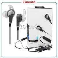 Wholesale Earphones Control Talk - Best quality 20i Noise cancelling In-Ear earphone with Control Talk Audio Headphones Earphones with Sealed Retail box for iPhone 7 iPad