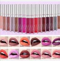 klassische lippenstiftfarben großhandel-Neues Produkt wasserdicht feuchtigkeitsspendende klassische Farbe Pop ultra matt samtig verschiedenen Farben Lipgloss flüssigen Lippenstift