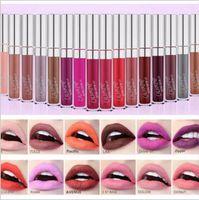 Wholesale new lipsticks colours resale online - New product waterproof moisturizing classic colour pop ultra matte velvety various colors lip gloss liquid lipstick