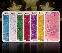 Wholesale Mobile Phone Accessories Bling - Best Innovative Hot Mobile Accessories Hard Pc Bling Glitter Liquid Floating Water Quicksand Phone Cases For Iphone5 6 6plus Iphone7 7plus
