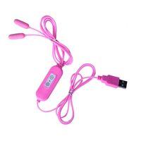 Wholesale Urethral Plug Female - USB Style Urethral Vibrator Male Penis Vibrating Piercing Plug Female Vagina Massager Anal Catheter Men Urethra Dilator Sex Toy