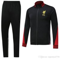 Wholesale Henderson Suits - Top Thai quality 17 18 COUTINHO Home Soccer Jersey GERRARD FIRMINO HENDERSON STURRIDGE LALLANA YNWA 2017 2018 training suit Football shirt