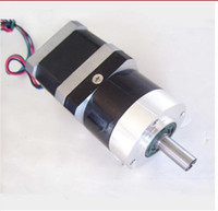 Wholesale Nema 17 Motors - 100% Positive Feedback! High Torque NEMA 17 Planetary Geared Stepper Motor 5:1 10:1 Motor Length 40mm,48MM,63mm Nema17 Gear Stepper Motor