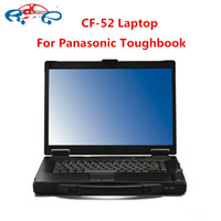 Wholesale Computer Diagnostic - CF52 diagnostic computer used High Quality For Panasonic Toughbook CF-52 4g laptop without HDD for mb star c3 c4 c5 icom a2 tool