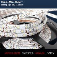 Wholesale Led 35 12v - 50M lot,SMD 3528 LED Strip,DC12V IP65 Waterproof 60LED M, LED Flexible light Ribbon Christmas Decoration,SMDT-35-60