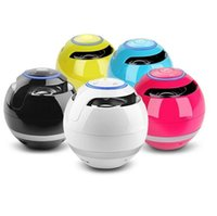 Bunte LED Bluetooth Mini Lautsprecher AJ69 Magic Ball Portable Subwoofer Stereo Outdoor Musik Player Freisprecheinrichtung für Samsung mit Paket