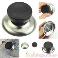 Wholesale Cooker Sizes - Wholesale-New Replacement Cooker Pot Cap Kettle Lid Button Plastic Handle Knob Grip Size M Free shipping