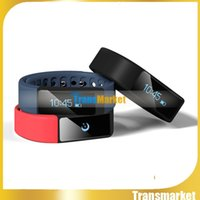 Wholesale Hot I5 - I5 Plus Smart Bracelet Bluetooth 4.0 Waterproof Touch Screen Fitness Tracker Health Wristband Sleep Monitor Smart Watch Hot sale