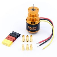 Wholesale Ducted Fan Rc Jets - F22139 40 QX-MOTOR QF2611 3500KV  4500KV Brushless Motor 55mm 64mm Ducted Fan Jet EDF 3-4S Lipo for RC Airplanes