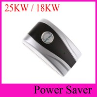 Wholesale Electric Power Energy Saver - 25KW 18kw Home Power saver Electricity Saving Box 90V-250V Energy Saver Energy Save saveing electric bill UK US EU plug